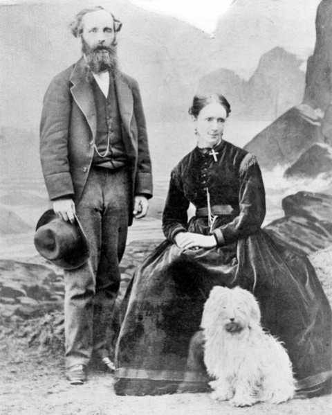 James Clerk Maxwell and his wife