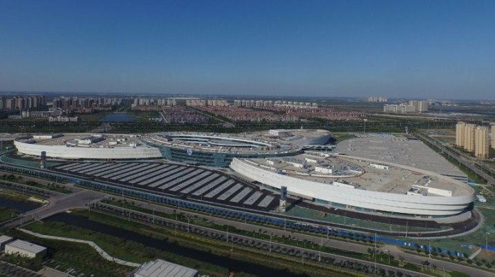 Bird eye view of SM Tianjin