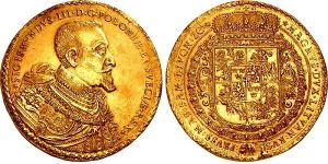 Polish 1621 100 Ducats - most valuable coins