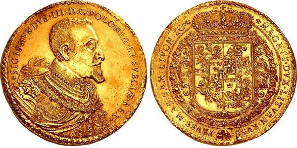 Polish 1621 100 Ducats