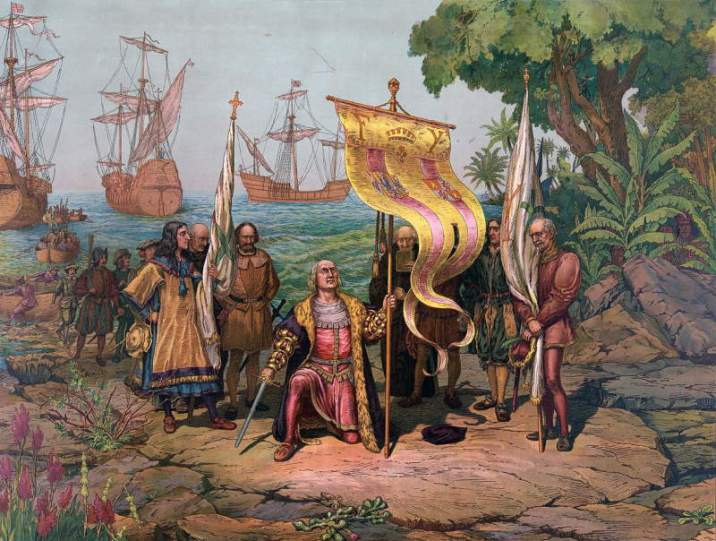 Arrival of Christopher Columbus