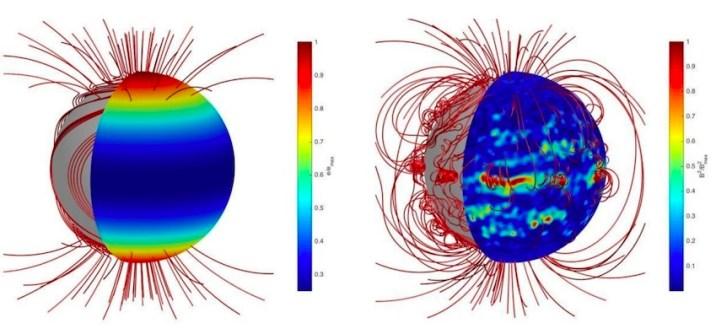 Neutron Star With Strange Magnetic Field
