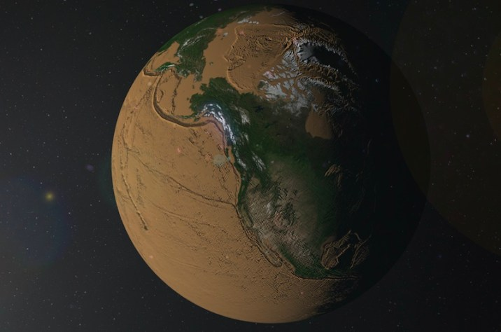 Earth Without Oceans