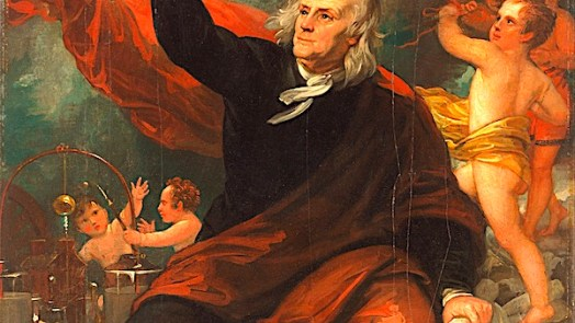Benjamin Franklin - who invented electricity