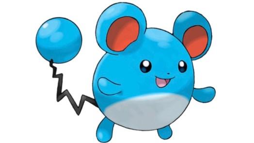 Marill - easy pokemon to draw