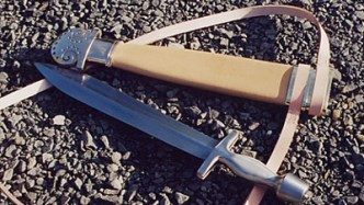 Different types of swords -Xiphos
