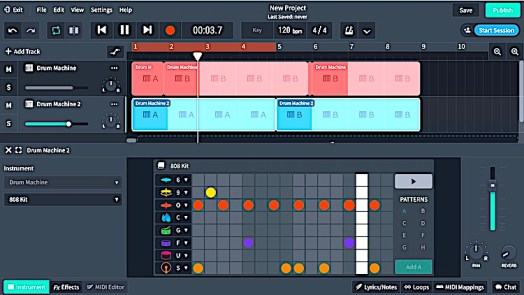Free Beat Making Software - BandLab studio