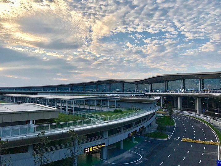 Chongqing Jiangbei airport terminal 3 departure
