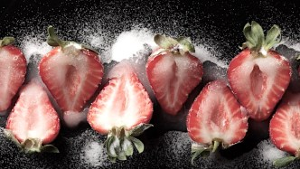 examples of osmosis - Sugar On Strawberries
