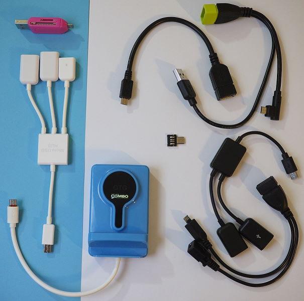 USB OTG cables