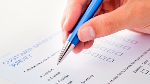 types of surveys - paper