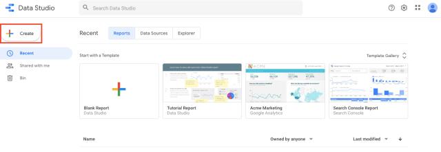 Integrate your RankWatch data with Google Data Studio