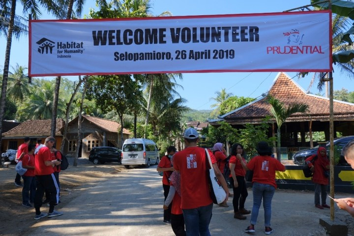 Welcome volunteer!