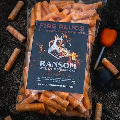 Ransom Wilderness Co Fire Plugs