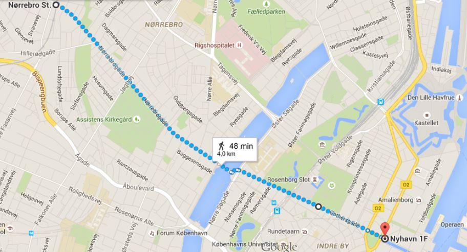 Noerrebro map