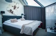 Santa' Igloos Arctic Circle -hotellissa Lasi-igluja