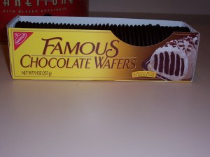 NABISCO Famous Chocolate Wafers