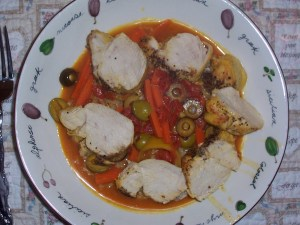 Chicken with Curry and Lemons