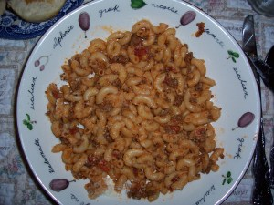 Macaroni and Beef