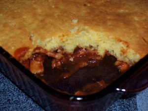 cornbread and pork casserole