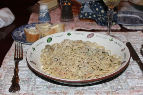 White Clam Sauce & Linguine