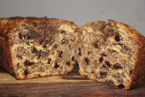 Cinnamon Raisin Banana Bread