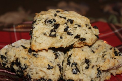 World's Best Scottish Scones with Currants