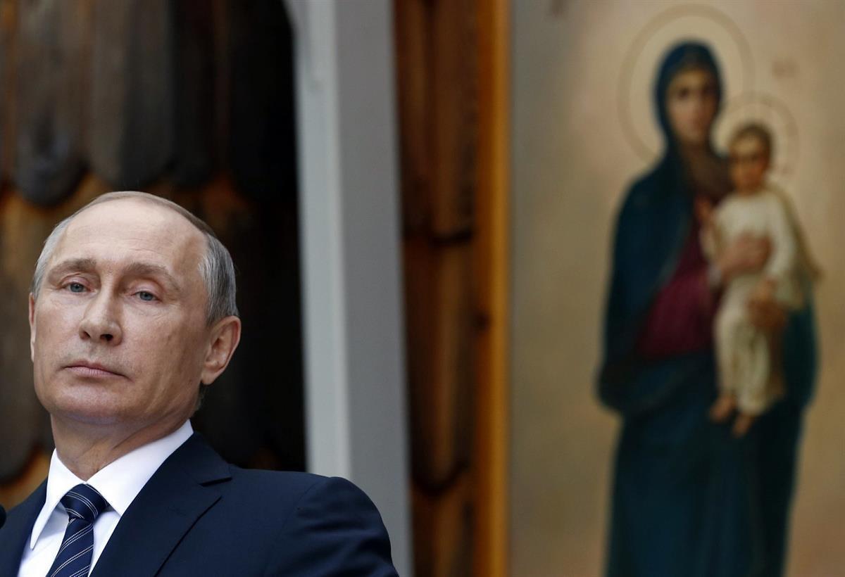 Russian President Vladimir Putin (AP Photo/Darko Vojinovic)