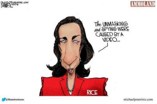 On April 18, the Lubbock County Republican Party shared a racially caricatured image of former National Security Advisor Susan Rice on Facebook.