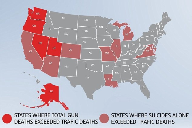 """""""What kills more people in the United States than guns? Life and death in fascinating charts.""""—DailyMail"""