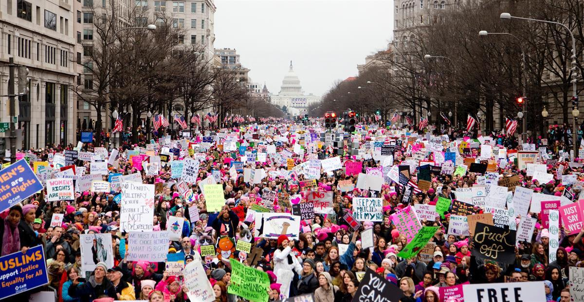 The Women's March — January 21, 2017 (Vlad Tchompalov)