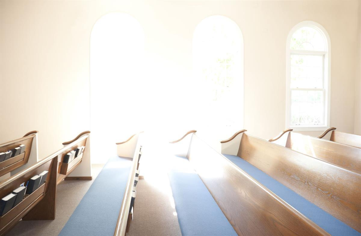 Evangelical Church interior (Photo <a href=