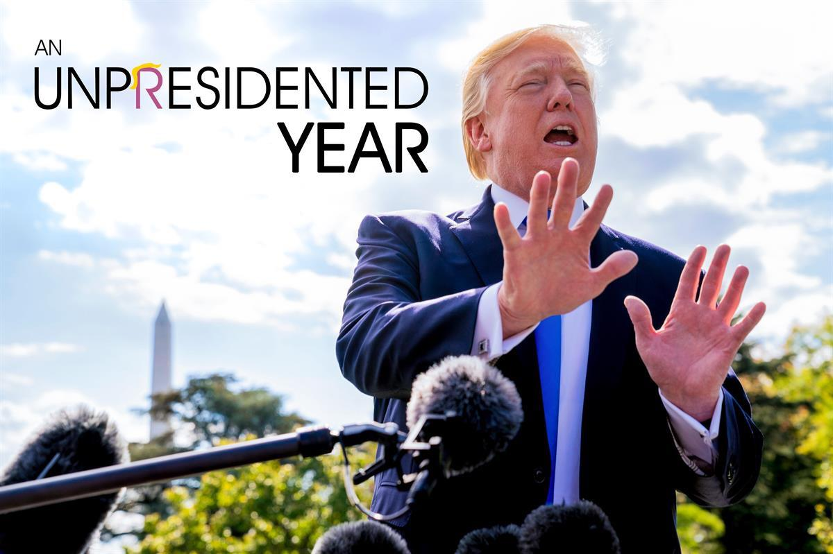President Donald Trump (Rantt Media Co-Founder AdamA/AP)