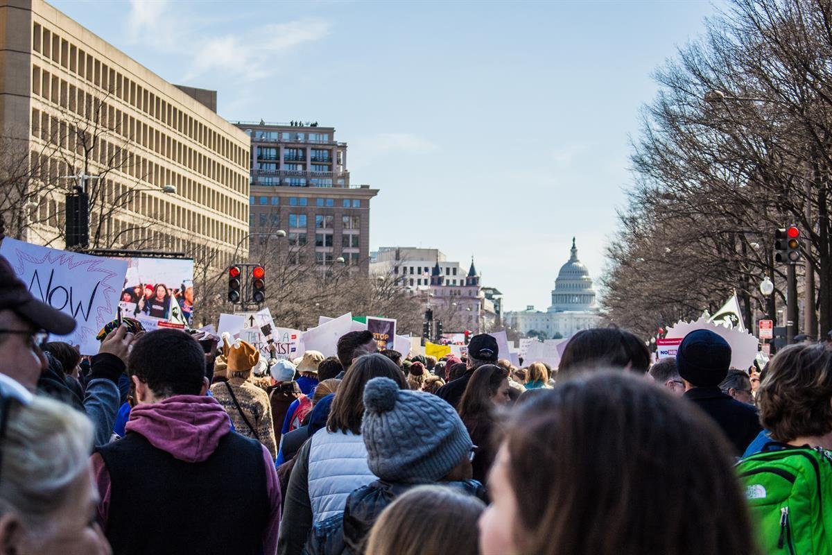 March For Our Lives. Pennsylvania Avenue, Washington D.C. — March 24, 2018 (Photo Credit: Adam A/Co-Founder Rantt Media)