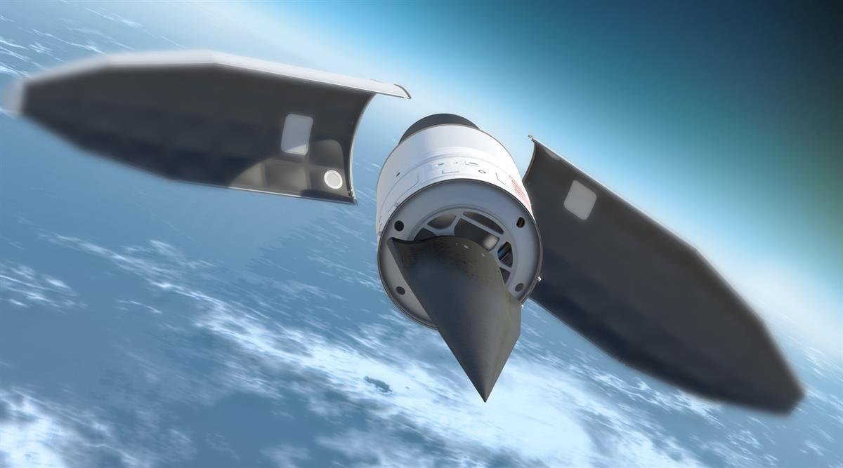 Rendering of DARPA's HTV-2 hypersonic missile prototype (DARPA/DOD)