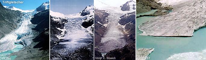 RAOnline EDU Gletscher und Klimawandel  Triftgletscher