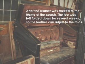 Adjusting the leather
