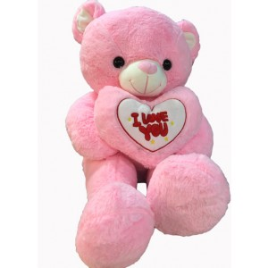 30 inches pink teddy bear