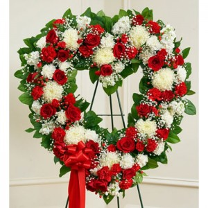 Heart Wreath Sympathy