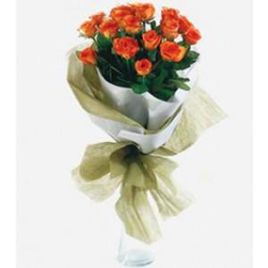 Romantic Orange Roses