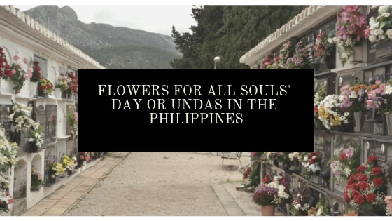 Flowers for All Souls' Day or Undas in the Philippines