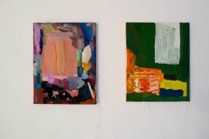 couple , 2015, 27cm * 34cm, oil on canvas