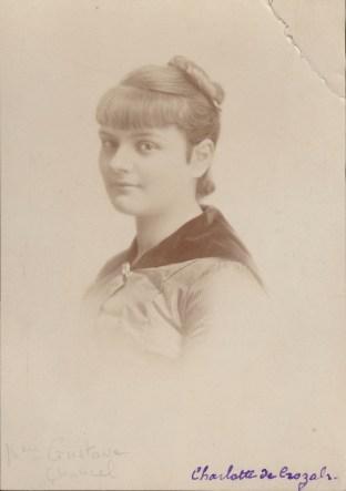 Charlotte de Crozals - Collection Charles de Raphélis-Soissan