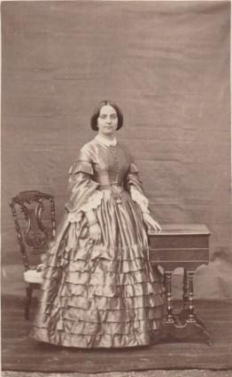 Nathalie Chancel, épouse Arduin, sœur d'Evariste - Collection Charles de Raphélis-Soissan