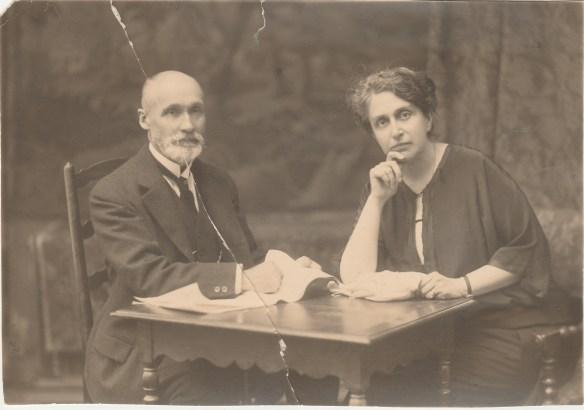Félix et Marie Chancel (Marie Massot) Collection Maurice Franc