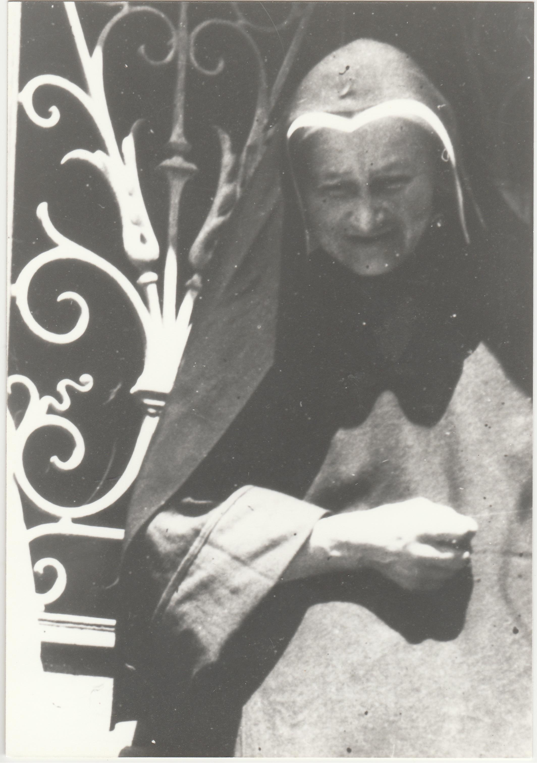 Marie-Joseph Malaboeuf, carmélite (soeur Marie-Joseph de la Sainte Face) (2) - Collection Marie-Thérèse Lanoë