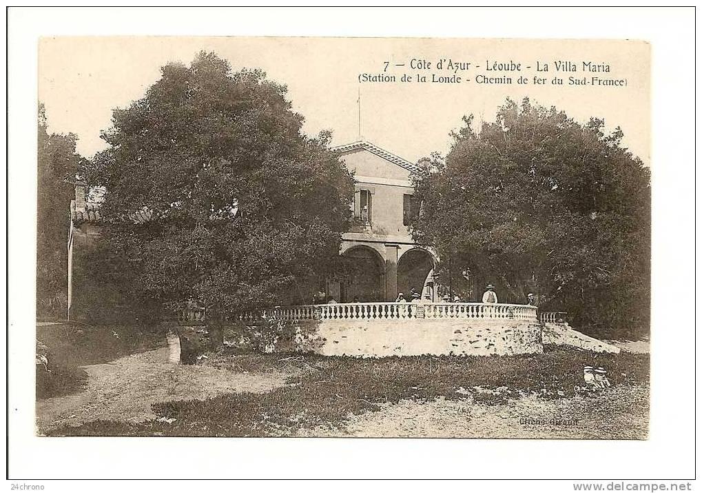 Léoube - La villa Maria - Collection Marc de Raphélis-Soissan