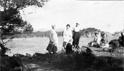 Léoube - Vue sur la plage d'argent - Septembre 1916