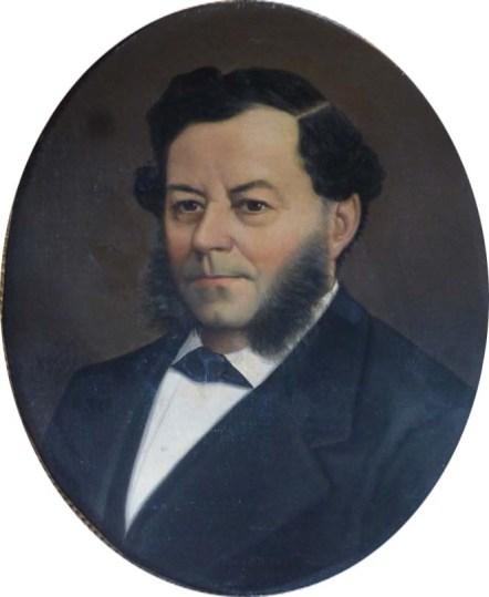 Paul Emmanuel Abeille de Perrin (1797-1868) par Giovanni Donadio en 1883