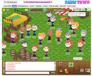 Screenshot of Farm Town